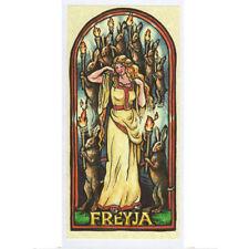 PAGAN WICCAN GREETING CARD Freya NORSE GODS Celtic GODDESS HEDINGHAM FAIR