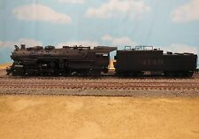 HO SCALE BRASS UNITED PFM SANTA FE 2-8-4 BERKSHIRE PAINTED LOCOMOTIVE