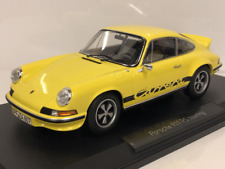 1 18 NOREV Porsche 911 RS 2.7 Touring 1973 Yellow/black