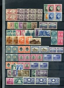 Commonwealth KGVI period MH collection 2