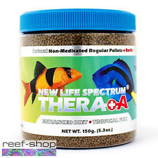 New Life Spectrum THERA +A Regular Pellet 150g Fish Food Fast Free USA Shipping