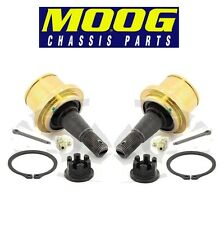 Ford F-150 Lincoln Pair Set of 2 Front Lower Press-in Ball Joints MOOG K80149