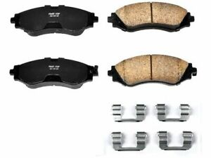 For 2004-2011 Chevrolet Aveo Disc Brake Pad and Hardware Kit Power Stop 37762SG
