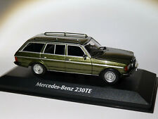 Mercedes Benz 230TE W123 de 1982 au 1/43 de Minichamps / Maxichamps