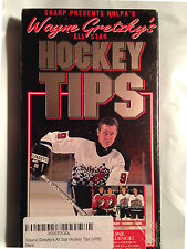 NHLPA'S Wayne Gretzky's All-Star Hockey Players Tips Video Tape VHS 1994 Sealed
