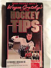 NHLPA'S Wayne Gretzky's All-Star Hockey Players Tips (VHS, Video, Tape 1994) New