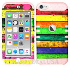 For Apple iPod Touch iTouch 5 | 6 KoolKase Hybrid Silicone Cover Case STRIPE 46