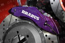 x6 Premium Mercedes Brabus Logo Vinyl Brake Caliper Decals - Stickers