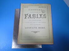 Vintage Cassell's Illustrated Book of Fables La Fontaine #19 - Gustave Dore L994