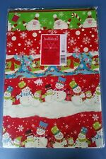 "12 Sheets of Christmas Wrapping Paper - 30"" x 40"""