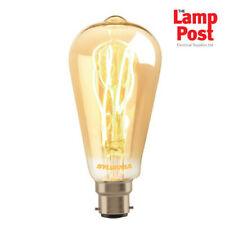 Sylvania 0028000 ToLEDo Vintage 5.5W LED Gold Tint Bayonet BC Lamp Light Bulb
