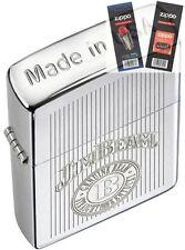Zippo 28190 jim beam crown stamp Lighter with *FLINT & WICK GIFT SET*