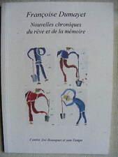 Centre Joë Bousquet Carcassonne Françoise Dumayet Nouvelles Chroniques Rêve 2000