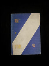 """WINTER 1900 LOS ANGELES HIGH SCHOOL YEARBOOK """"BLUE AND WHITE"""" LA CA"""