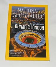 NATIONAL GEOGRAPHIC MAGAZINE AUGUST  2012 - OLYMPIC LONDON/GANNETS
