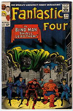 FANTASTIC FOUR #39 4.5 OFF-WHITE TO WHITE PAGES SILVER AGE