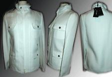 $2,750 DOLCE & GABBANA Ivory Fringed Multi Pocket Jacket  Blazer Sz. 42- 8-M D&G