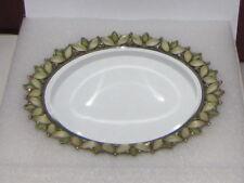 Green Swarovksi Crystal Perfume Mirror Tray