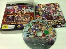 The Disgaea Triple Play Collection PS3 Playstation 3