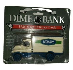 1997 Ertl  Agway Limited Edition #7 1926 Mack Delivery Truck Dime Bank