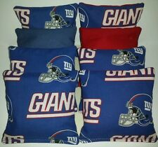 New York Giants 8 Cornhole Bean Bags Nfl Football *Free Shipping*