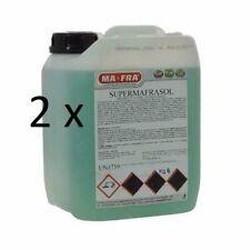 OFFERTA 2x SUPERMAFRASOL 6kg Mafra  Detergente Sgrassante per motori carrozz.