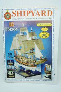 Shiyard 4 Kartonmodell Modellbaubogen HMS Cleopatra 1:96 gebraucht