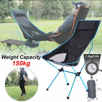 Outdoor Portable Folding Chair BBQ Table Travel Seat Fishing Stool Camping Chair