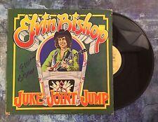 GFA Juke Joint Jump * ELVIN BISHOP * Signed Record Vinyl Album PROOF E1 COA
