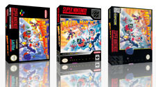 Megaman X3 SNES Replacement Game Case Box + Cover Artwork Art (No Game)