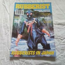 Vintage Rubberist Magazine No 28 From Shiny Publication Rubber PVC Latex Fashion