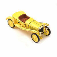 1:43 Scale Diecast Yellow Skoda Hispano Suiza Classic Collectible Car Model Toy