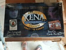 2002 Xena Beauty & Brawn Factory sealed card box 1 autograph & 2 costume cards