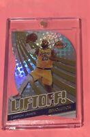 2019/20 Panini Revolution Liftoff! LEBRON JAMES Gold Foil Refractor MINT Lakers