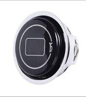 Plastic+Metal  Racing Car Steering Wheel Horn Button + Cover