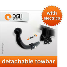 Chrysler Grand Voyager Stow n Go 04/08 detachable towbar + electric kit
