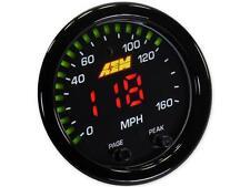 AEM X-Series GPS Speedometer Gauge 0~160mph 0~240kph Black Bezel 30-0313 Speedo