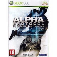 Alpha Protocol (Xbox 360 Nuevo)