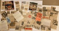 Vintage Lot of 1960's Soap Box Derby Car Newspaper Clippings Pamphlets Letters