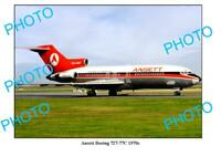 OLD 8x6 PHOTO ANSETT AIRLINES BOEING 727 77c AIRCRAFT