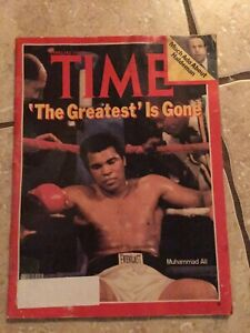 VINTAGE TIME MAGAZINE - MUHAMMAD ALI - 'THE GREATEST' IS GONE -FEB 27 1978