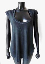 ISABEL MARANT ETOILE Top Haut Manches Courtes T-Shirt Noir M