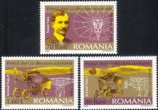 2006 Romania TRAIAN vuia/volo/Aeromobile/Aviazione/piani/trasporto 3v Set n46121