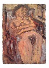 Postcard Art CATHY No.1 SUMMER 1994 by Leon Kossoff MU2173 #68 Nude Risque
