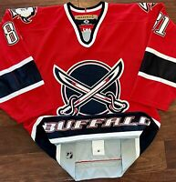 Buffalo Sabres 2000-4 Miroslav Satan Butter Knives Authentic Hockey Jersey Koho
