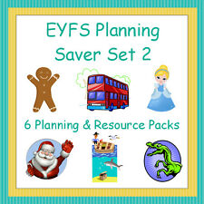 6 EYFS Planning and Teaching Resource Packs, Saver Set 2, Reception, Topics, NQT
