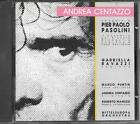 """ANDREA CENTAZZO - RARO CD FUORI CATALOGO 1989 """" OMAGGIO A PIER PAOLO PASOLINI """""""