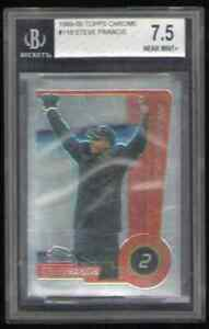 US. 1999-00 Topps Chrome #118 Steve Francis. Beckett 7.5. Near Mint. Rookie Card