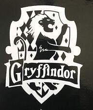 HARRY POTTER Hogwarts GRYFFINDOR HOUSE CREST vinyl car or computer decal!