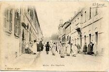 CARTE POSTALE / ALGERIE / MEDEA RUE GAMBETTA